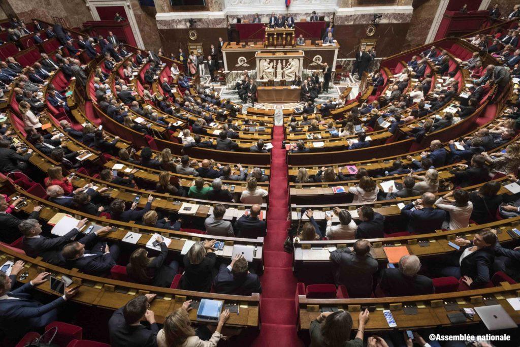 Réforme des retraites : séance de débat à l'Assemblée Nationale